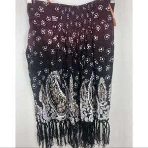 Free People Skirts - NWT FREE PEOPLE Women's Skirt Sexy open bottom